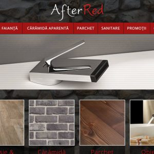 After Red - web design