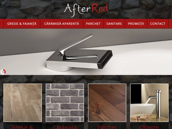 After Red - web design