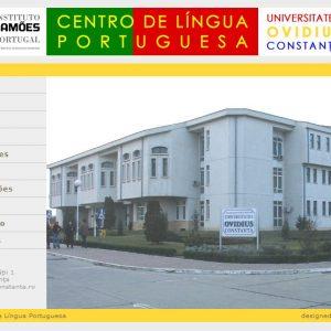 Centrul de Limbă Portugheză - Institutul Camoes - web design