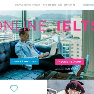 Centrul de Educare Permanentă Plus One - web design