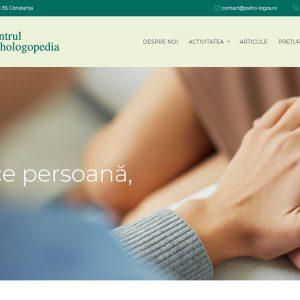 Centrul Psihologopedia - web design