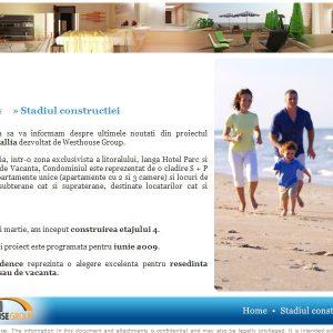 Corallia Apartments - newsletter