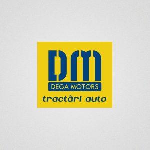 Dega Motors Trac - logo design