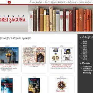 Editura Universității Andrei Șaguna - web design