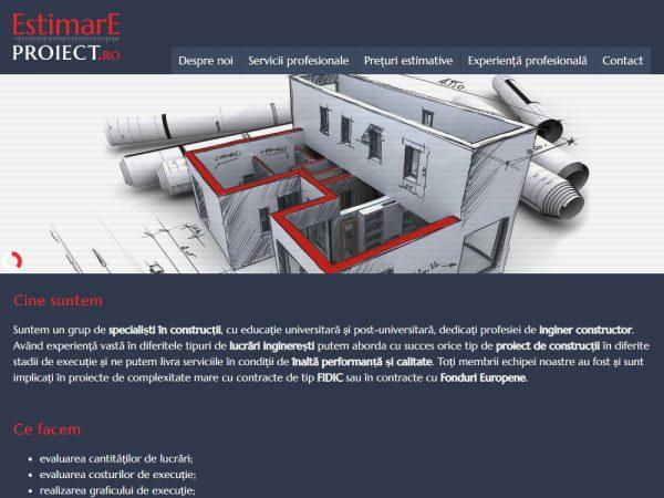 Estimare Proiect - web design