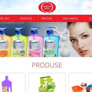 Gabros Prod - web design