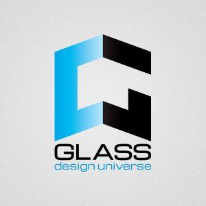 Glass Design Universe - logo design