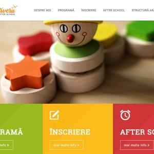 Grădinița Primăverii - web design