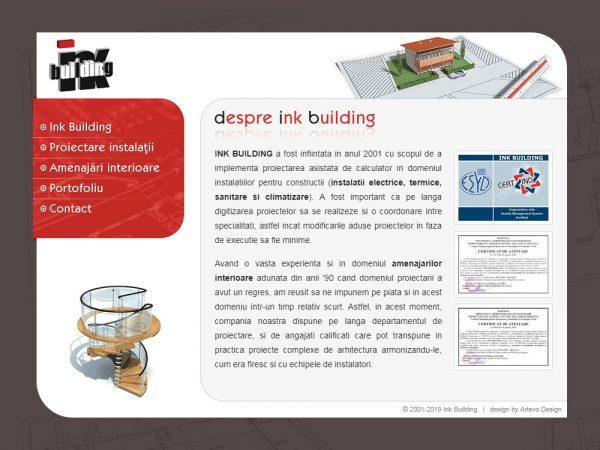 Ink Building - web design