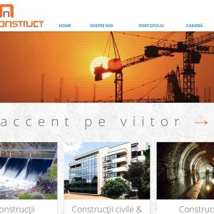 Interconstruct - web design