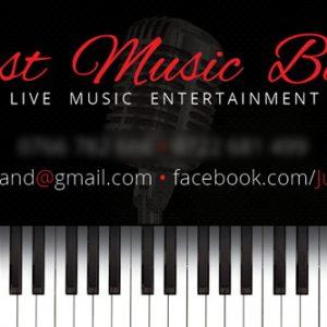 Just Music - carte vizită