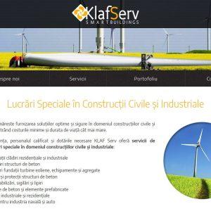 Klaf Serv - web design