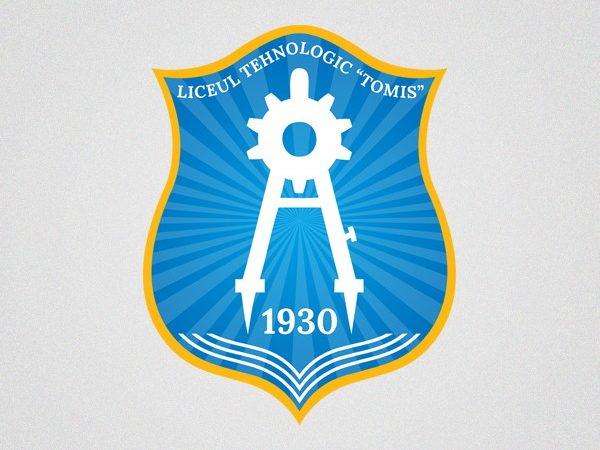 Liceul Tehnologic Tomis - logo design