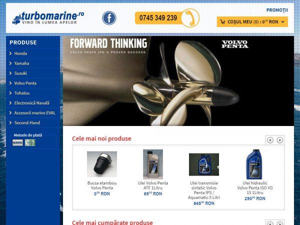 Mag Turbo Marine - web design