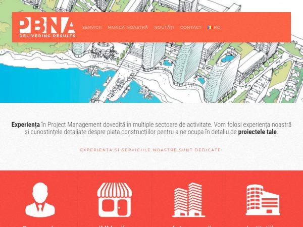 PBNA - web design