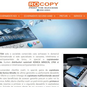 Rocopy - web design