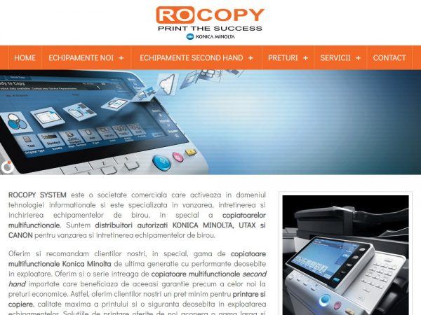 Rocopy - web design