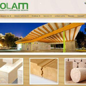 Rolam - web design