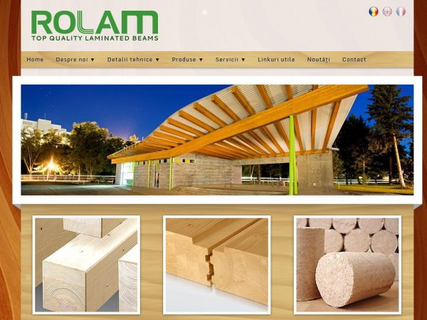 Rolam - web design