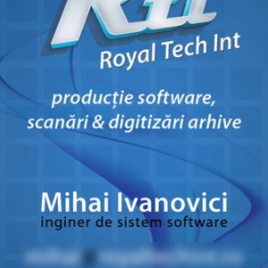 RTI - carte vizită