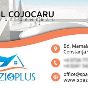 Spazioplus - carte vizită