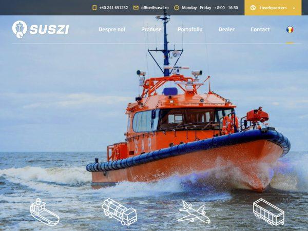Suszi - web design