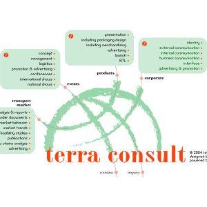 Terra Consult - web design