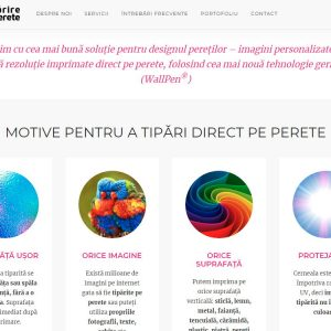 Tipărire Pe Perete - web design
