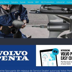 Turbo Marine - web design