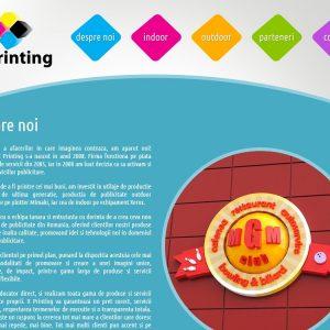 X Printing - web design